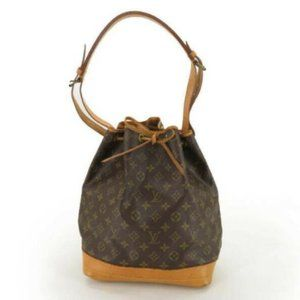 AUTH LOUIS VUITTON NOE DRAWSTRING SHOULDER BAG